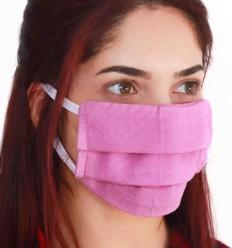 Mascherina Protettiva viola chiaro