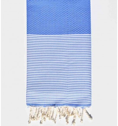 Fouta nido d'ape International Klein Blue