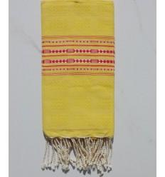 Fouta thalasso giallo