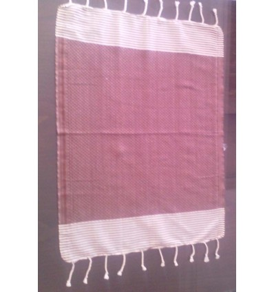 Mini fouta mogano