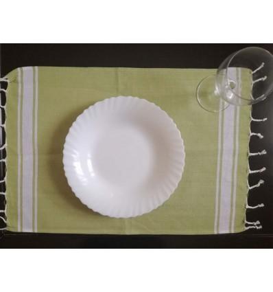 mini fouta verde prato