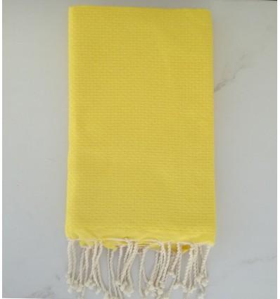 telo mare nido d'ape giallo
