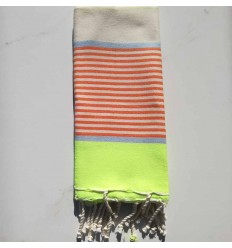 mini fouta multicolore