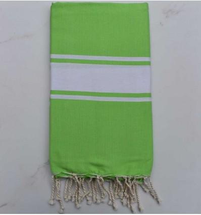 Fouta Plate vert gazon