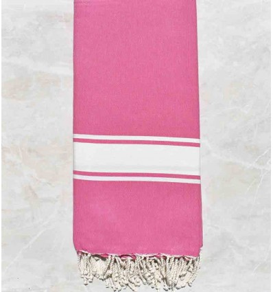 Grande fouta rosa 2m/2m