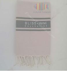 Fouta ricamo hotel Seychelles