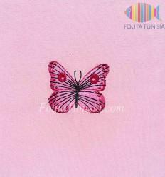 Fouta personalizzata farfalla