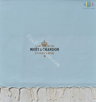 Fouta personalizzato Moët & Chandon Champagne