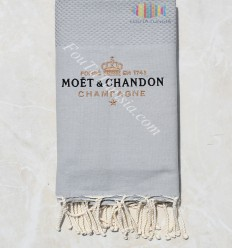 Fouta ricamo Moët & Chandon