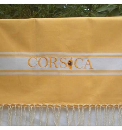Ricamo Corsica giallo