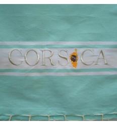 Ricamo Corsica verde acqua