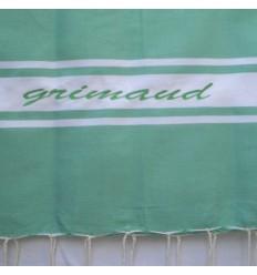 Ricamo Grimaud verde