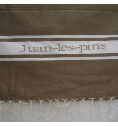Ricamo Juan les pins testa di moro