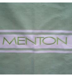 Ricamo Menton verde chiaro