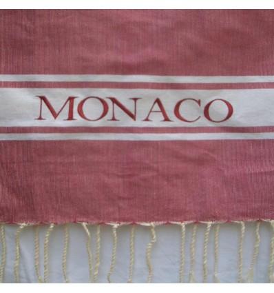 Ricamo Monaco rosa scuro