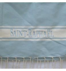 Ricamo Saint-Rafhael blu cielo