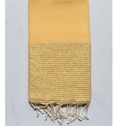 Fouta lurex giallo imperiale chiaro