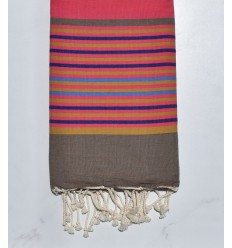 Fouta Plate ziwane violet