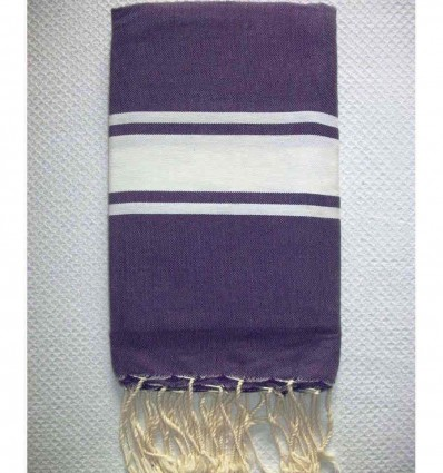 Fouta Plate violet