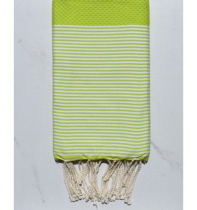 Fouta verde lime