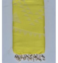 telo mare Bohemian giallo limone