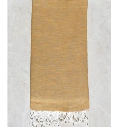 Copriletto fiammato colore dei capelli cammello