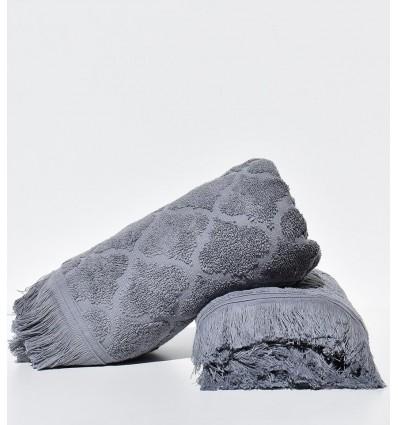Asciugamano ospite ELYSSA grigio