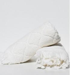 Asciugamano ospite ELYSSA ecru