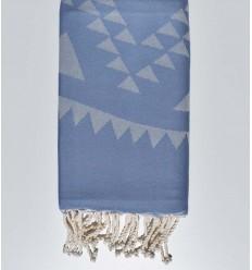 telo mare  BOHEMIAN Barbeau blu