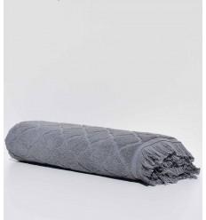 Asciugamani da bagno Elyssa grigio