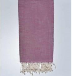 Copriletto fiammato vecchia rosa 270*200