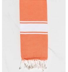 Telo mare per bambini corallo arancione
