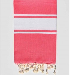Fouta Plate rose