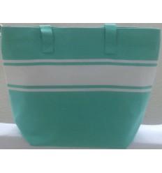 borsa da spiaggia verde turchese