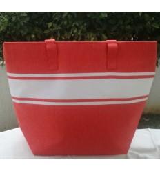 borsa da spiaggia rosso