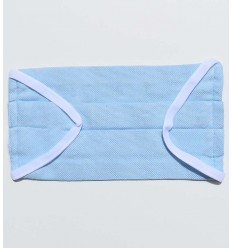 Mascherina protettiva azzurra