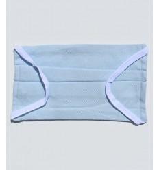 Mascherina protettiva blu chiaro